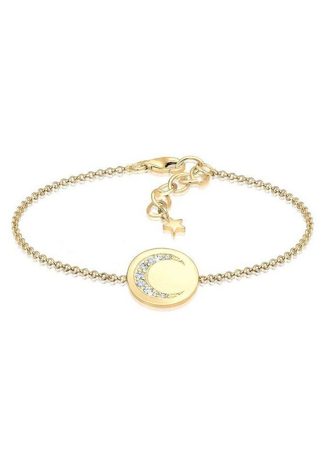 592cbccc369e Elli Armband »Halbmond Astro Swarovski® Kristalle 925 Silber« online ...