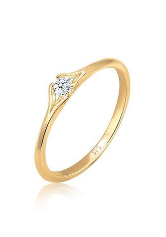 DIAMORE Žiedas su deimantais »Verlobung vintaž...
