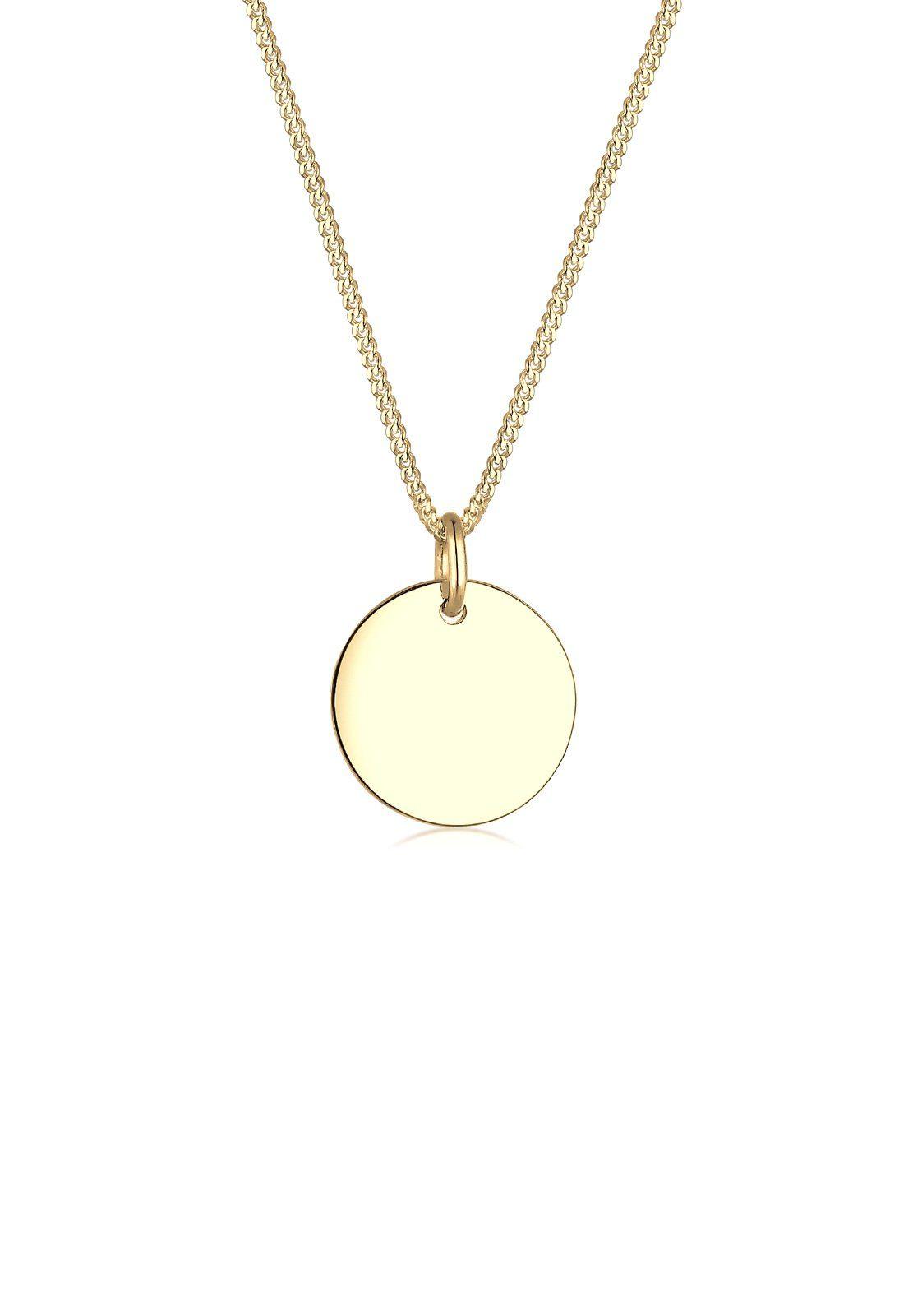 Elli Collierkettchen »Kreis 585 Gelbgold«