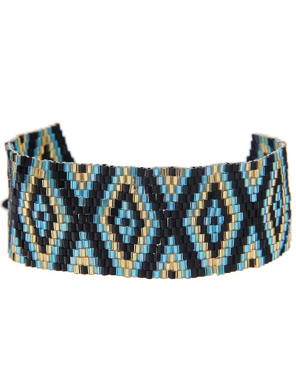 Leslii Armband mit tollem Webmuster