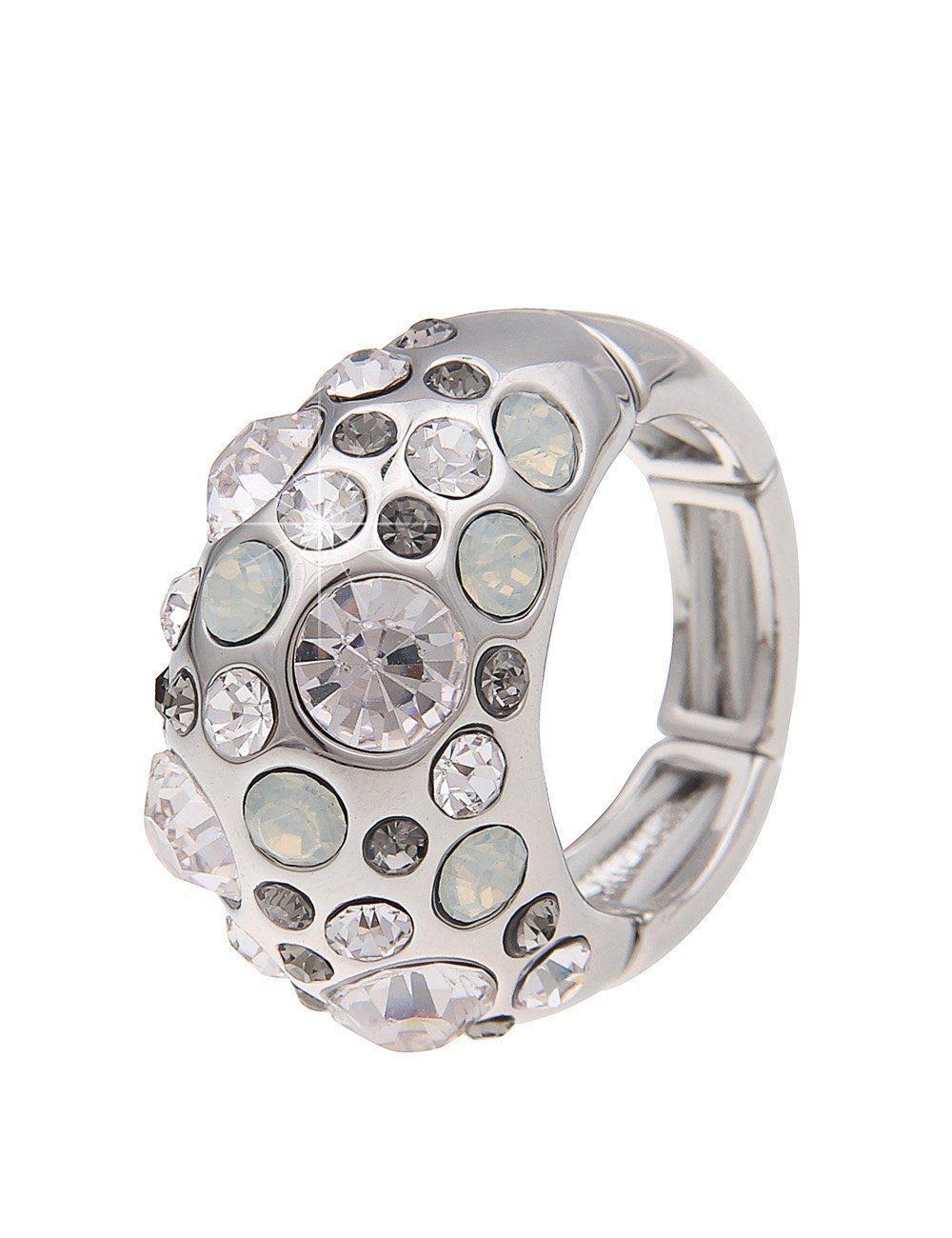 Leslii Ring mit Strass-Besatz