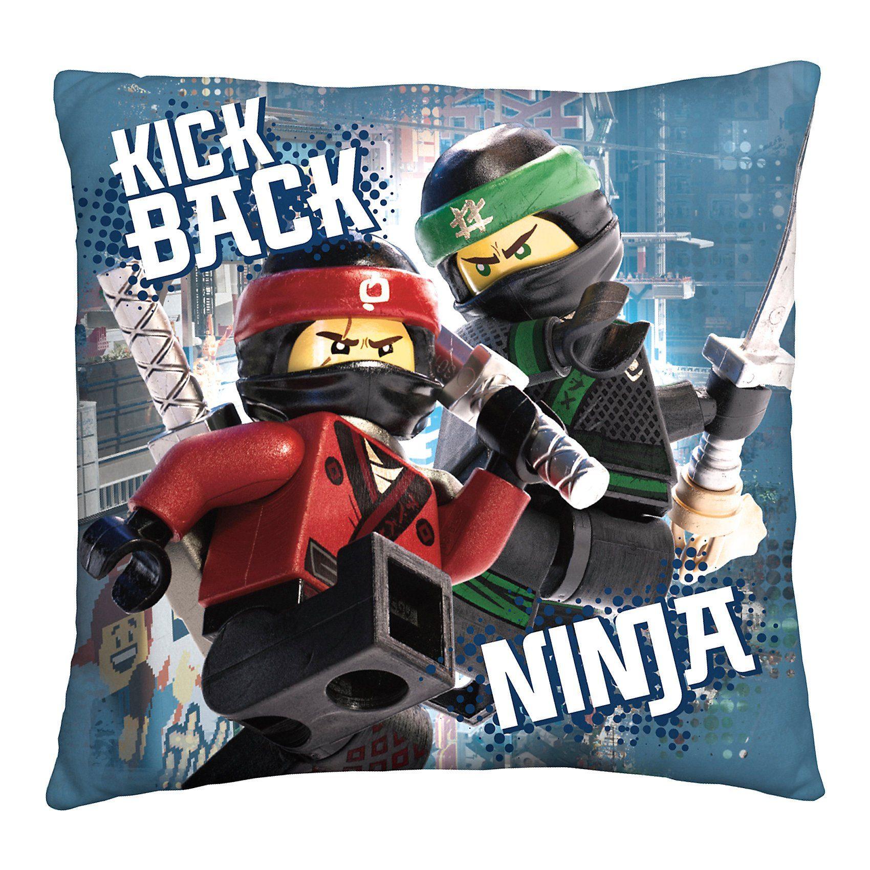 Wende- Kuschelkissen LEGO Ninjago Movie, 40 x 40 cm