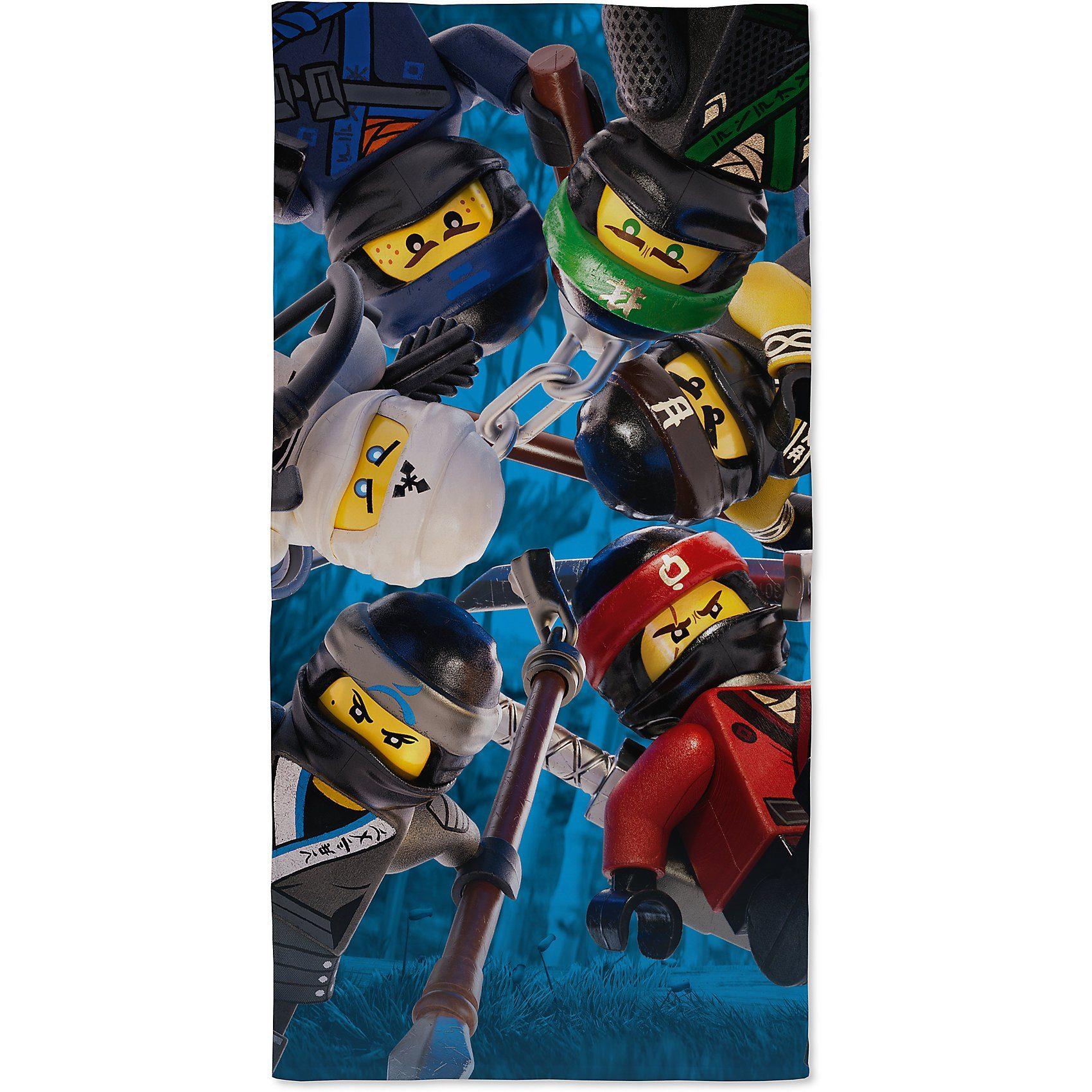 Strand und Badetuch Lego Ninjago, 70 x 140 cm