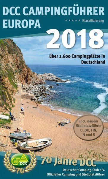 Broschiertes Buch »DCC-Campingführer Deutschland/Europa 2018«