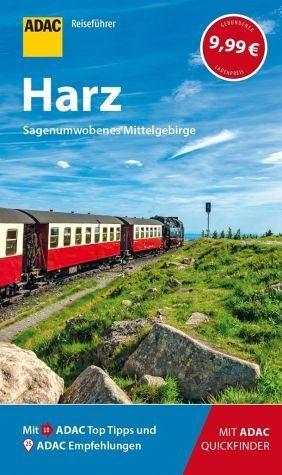 Broschiertes Buch »ADAC Reiseführer Harz«