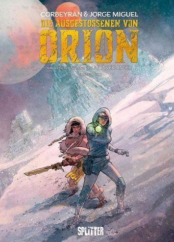 Gebundenes Buch »Die Ausgestossenen von Orion 02«