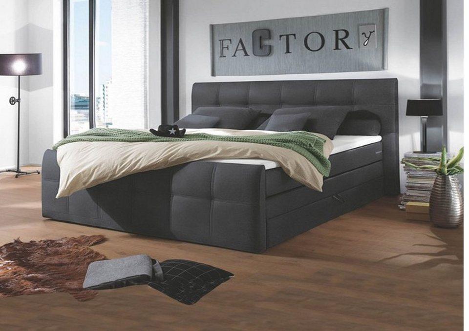 hti living boxspringbett sacramento online kaufen otto. Black Bedroom Furniture Sets. Home Design Ideas