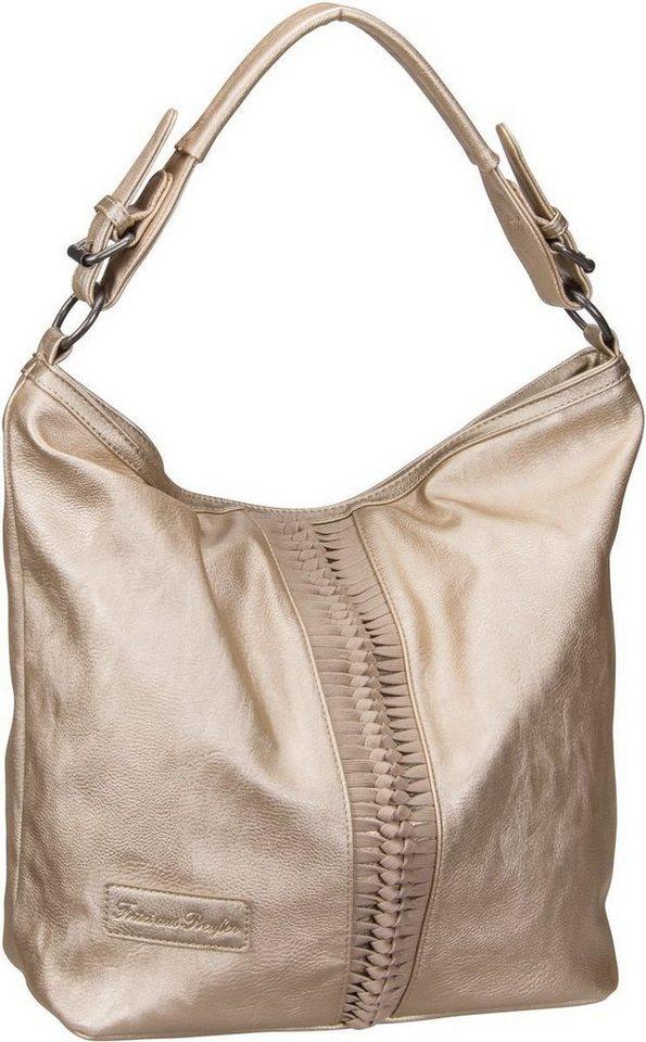 Damen Fritzi aus Preußen Bags Handtasche Janis Saddle gold | 04059065088054