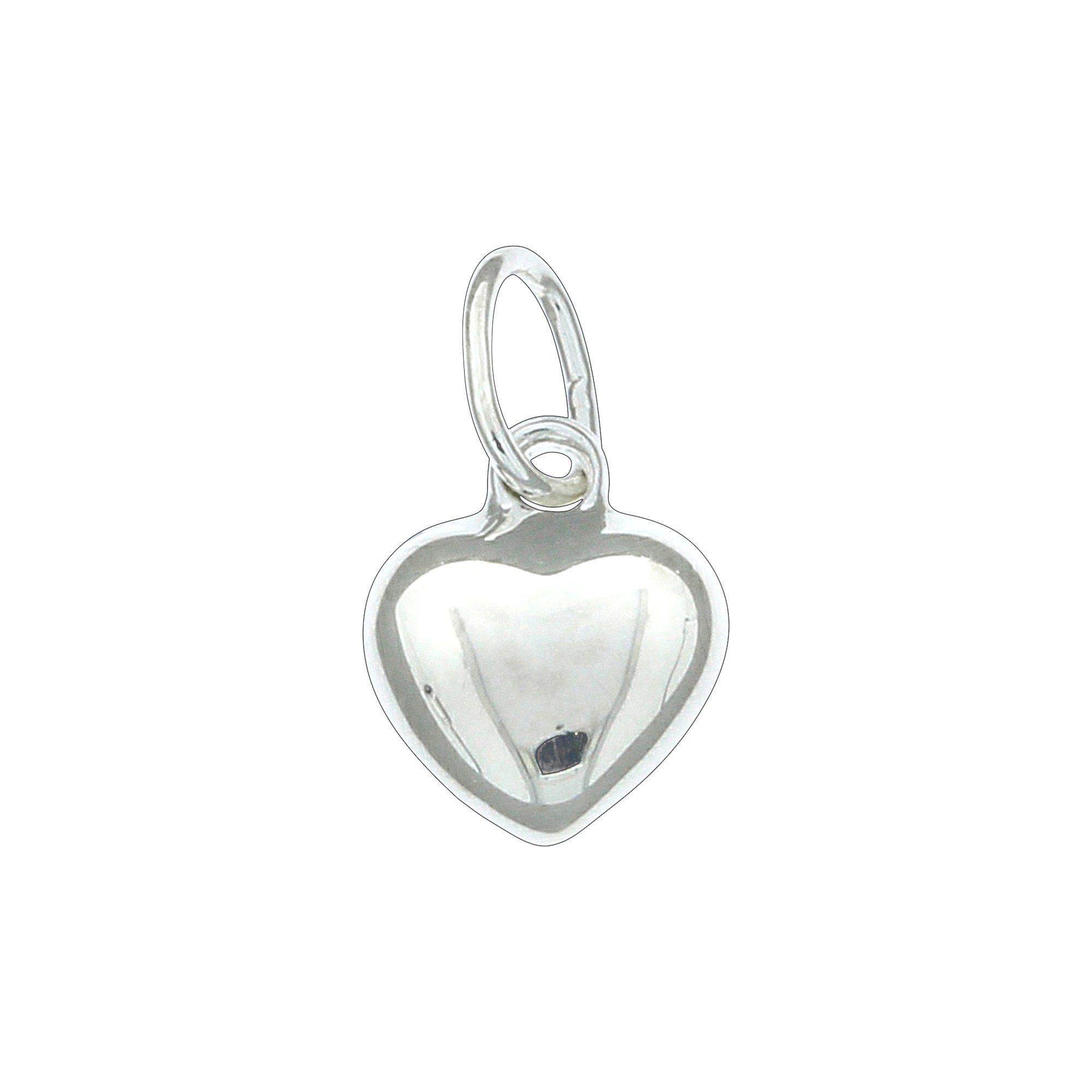 Firetti Anhänger »925/- Sterling Silber Herz« | Schmuck > Halsketten > Herzketten | Silber | Firetti