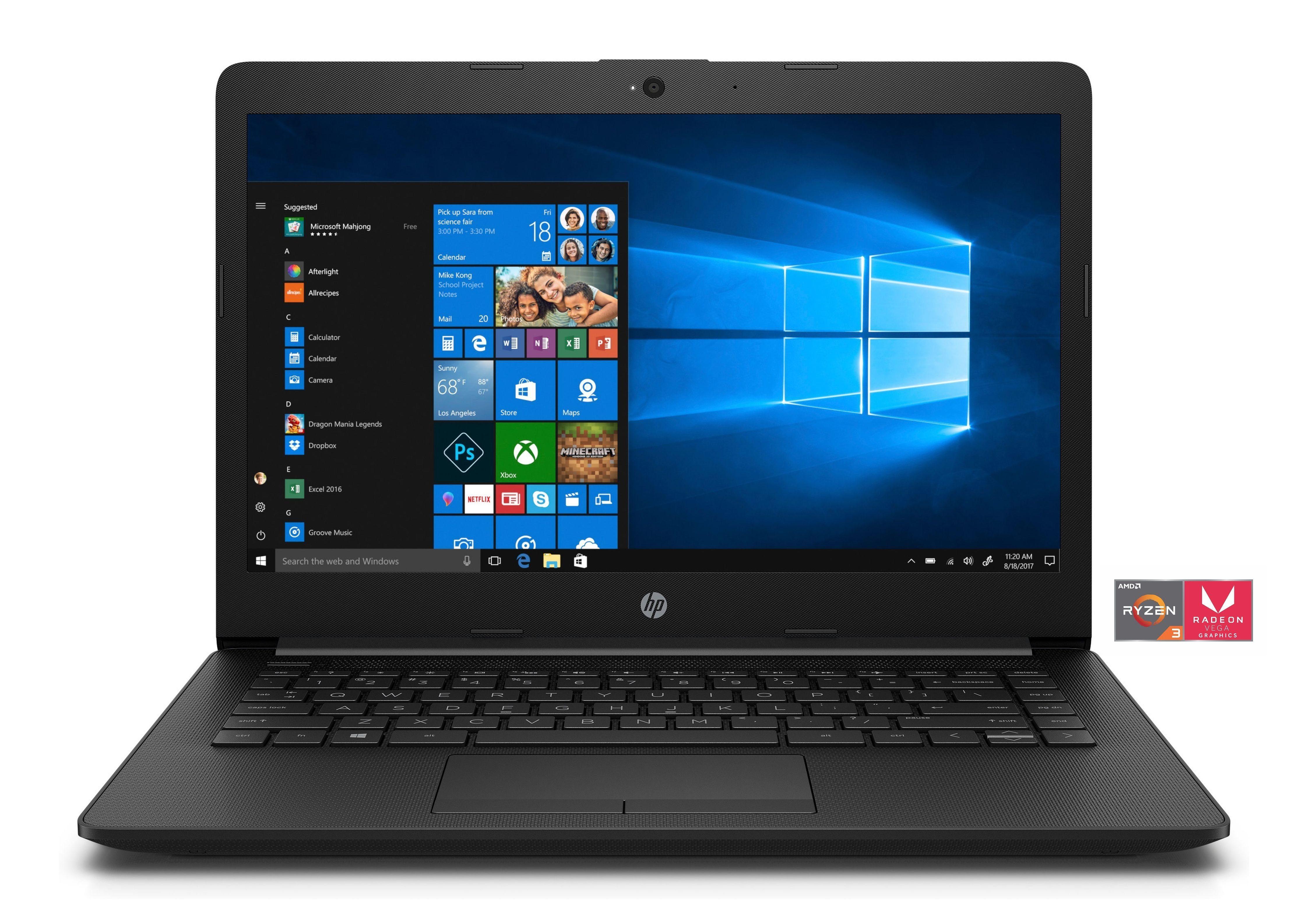 "HP 14-cm0200ng Notebook »AMD Ryzen, 35,6 cm (14"") 256 GB, 8 GB«"