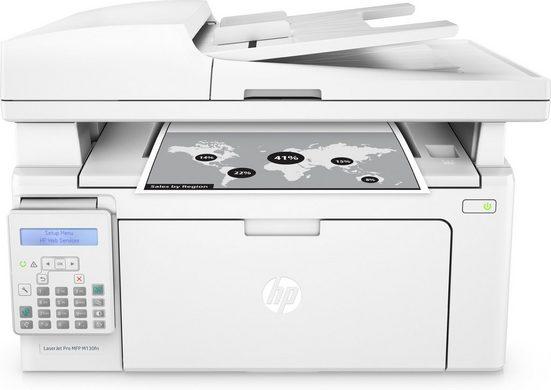 HP LaserJet Pro MFP M130fn Drucker »Drucken, Kopieren, Scannen und Faxen«