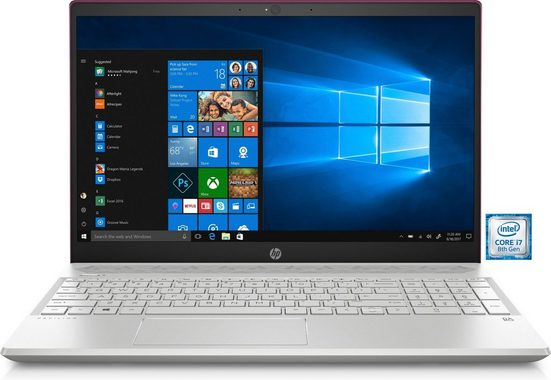 "HP Pavilion 15-cs020ng Notebook »Intel Core i7, 39,6 cm (15,6"") 256 GB SSD, 8 GB«"