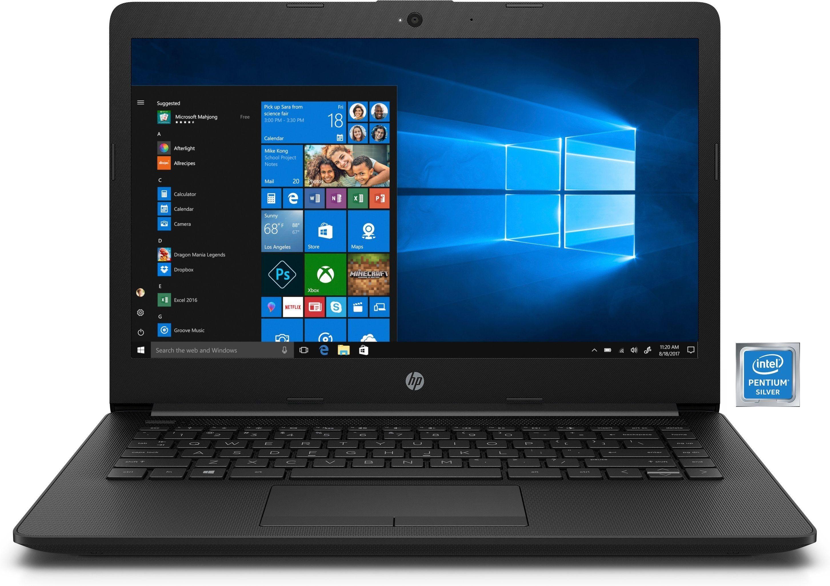"HP 14-ck0201ng Notebook »Intel Pentium, 35,6 cm (14"") 256 GB, 4 GB«"