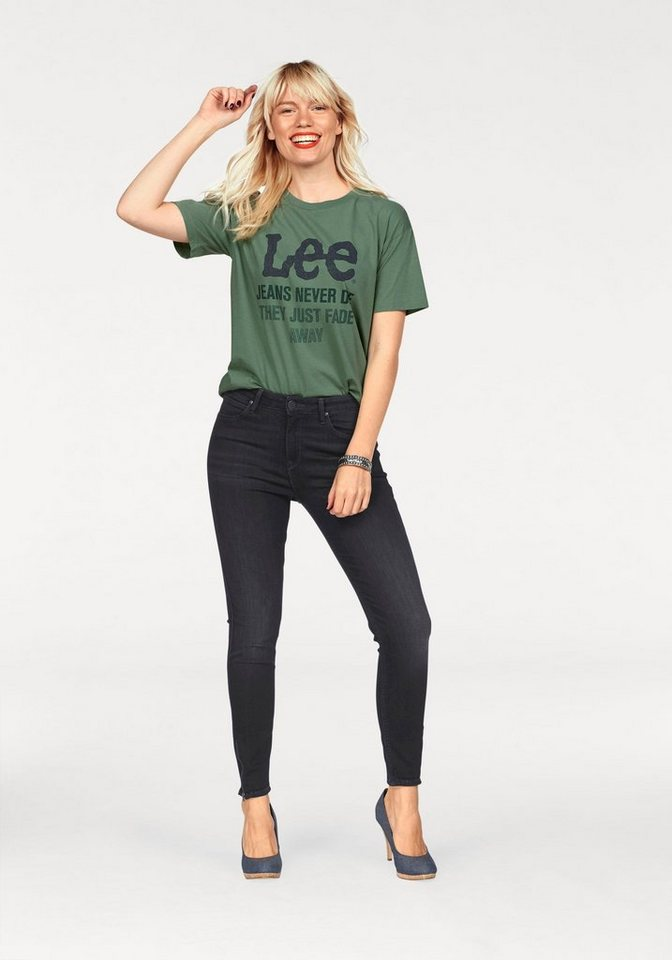 Lee® T-Shirt mit coolem Frontprint