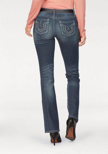 Laura Scott Bootcut-Jeans Auch in Kurz und Langgrößen