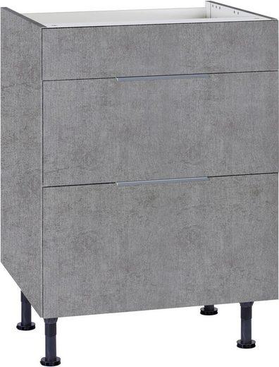 OPTIFIT Kochfeldumbauschrank »Tara« mit Vollauszug und Soft-Close-Funktion, Breite 60 cm