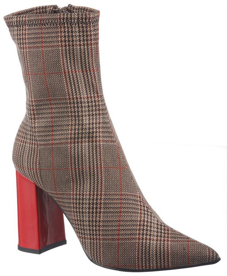 f2db82b7524b Jeffrey Campbell Stiefelette im trendigen Karo-Look online kaufen   OTTO