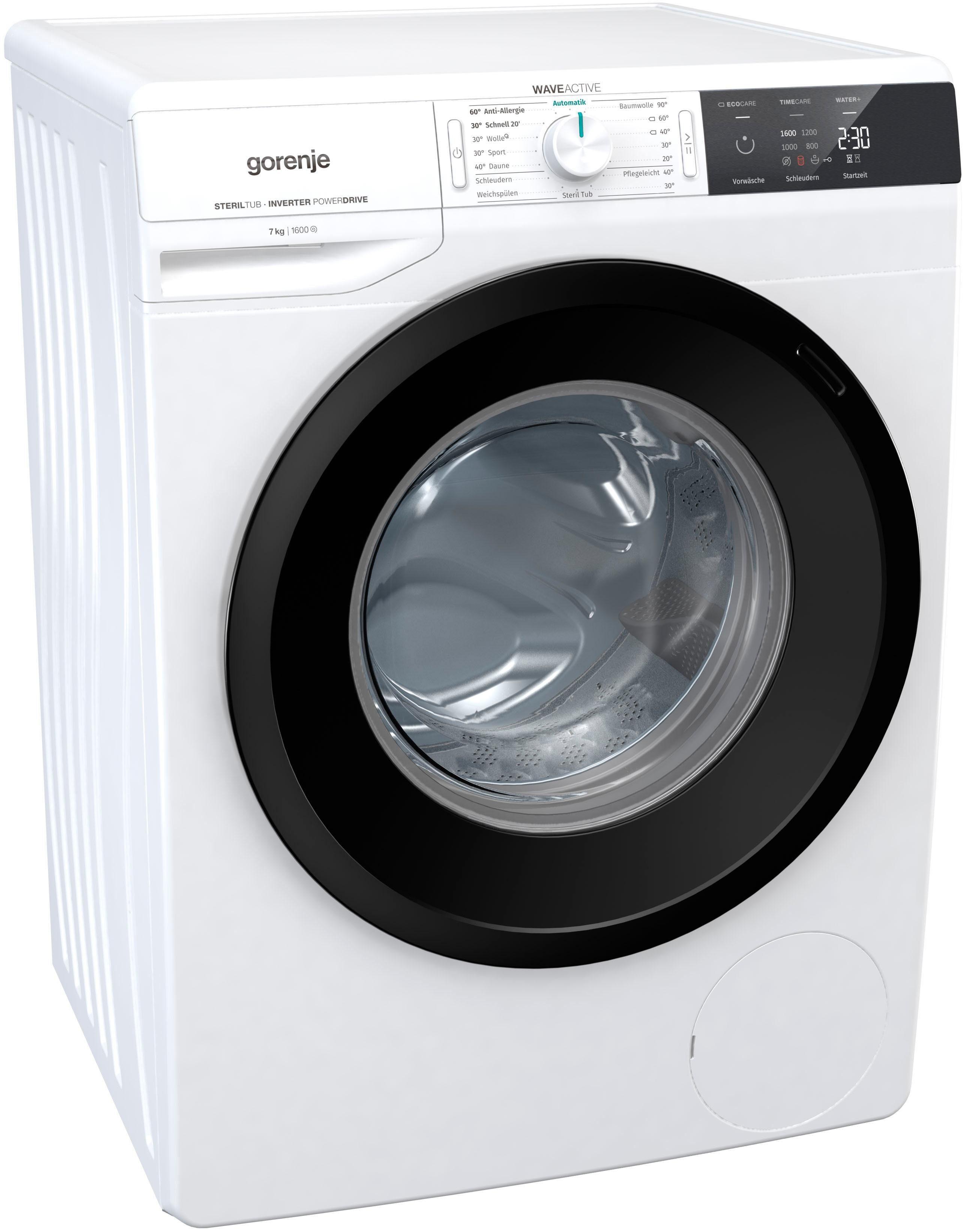 GORENJE Waschmaschine Wave EI 763 P, 7 kg, 1600 U/Min