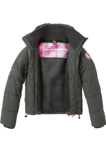 Windcheater« Modischer In »soft Tech Steppjacke Superdry Kurzform tFw8XqF