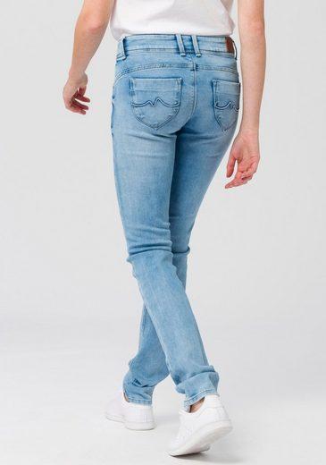 Pepe Jeans Slim-fit-Jeans »NEW BROOKE« mit Reißverschluss-Tasche