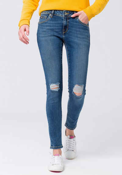 c8f1c2e70ba4 Superdry Skinny-fit-Jeans »CASSIE SKINNY« im modischen Used-Look