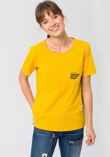 G-Star RAW T-Shirt »Graphic 1 pocket« mit Brusttasche
