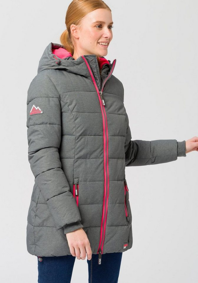 detailed look c353c 1548d Superdry Steppjacke »TALL SPORTS PUFFER« mit modischen Neondetails online  kaufen | OTTO