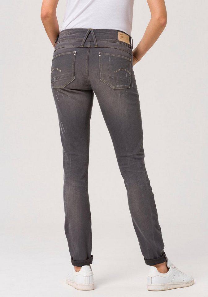 43c7011dbab G-Star RAW Skinny-fit-Jeans »Lynn Mid Skinny wmn NEW« mit Stretch ...