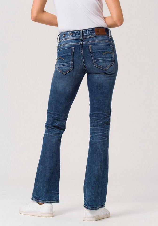 cbabc064b7f5 G-Star RAW Bootcut-Jeans »Midge Saddle Mid Skinny Bootcut« mit Stretch