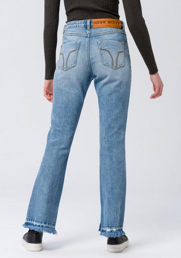 MISS SIXTY Bootcut-Jeans »DENIM TROUSERS« im modischen Used-Look