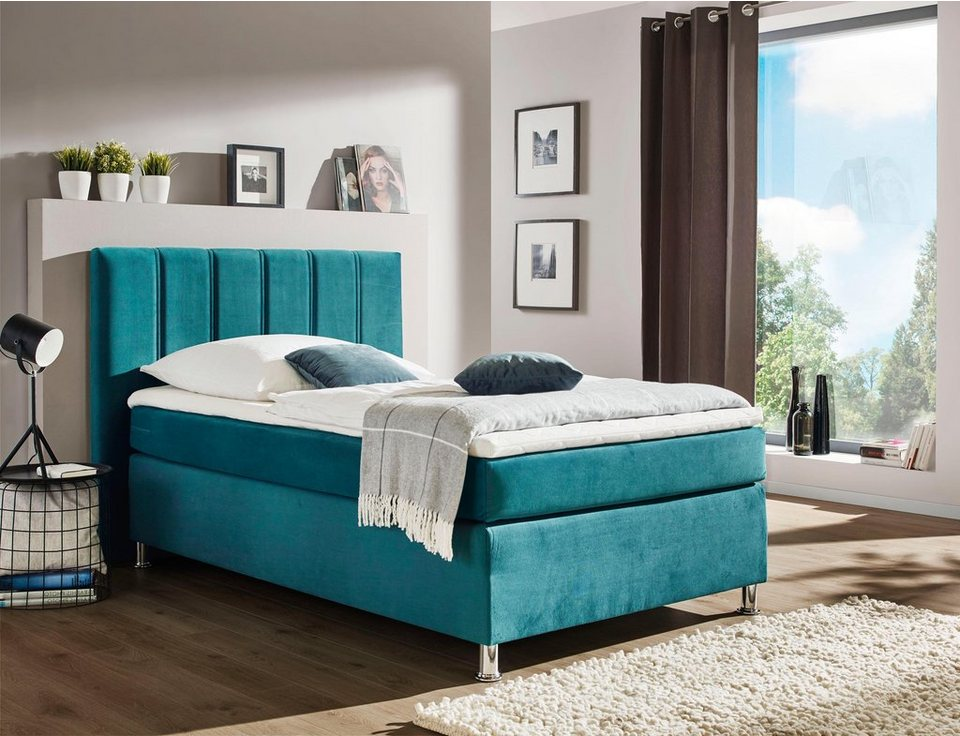 inosign boxspringbett siena mit hohem schlafkomfort. Black Bedroom Furniture Sets. Home Design Ideas