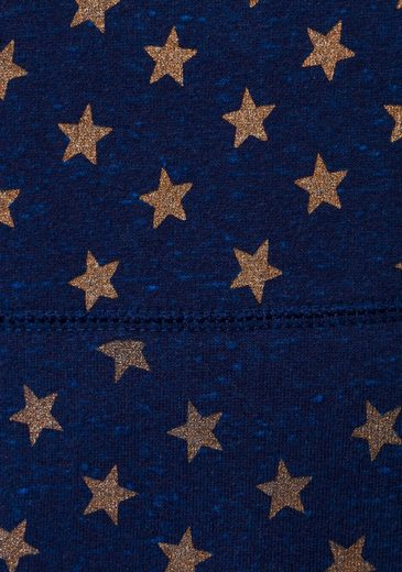 Glitzerndem Entry Star Mit »vintage Sternenprint Superdry Logo Kapuzensweatshirt Hood« Aop Wcaxv7RnA
