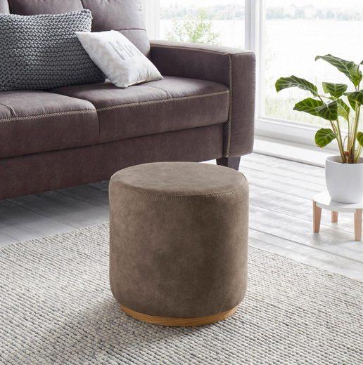 andas Hocker »Parana«, praktische und dekorative Sitzgelegenheit, Sitzhöhe 39 cm
