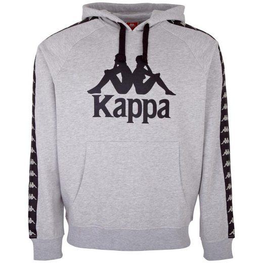Kappa Kapuzensweatshirt »AUTHENTIC TELLO« mit angesagtem Logoband an den Ärmeln