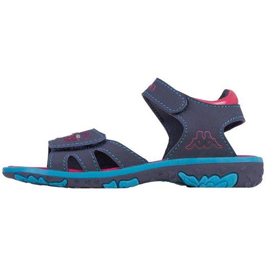 Kappa »SWAN KIDS« Sandale mit Glitzersteinen verziert
