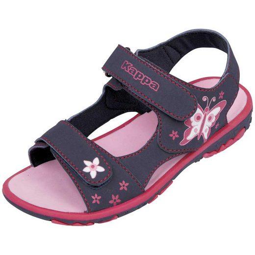 Kappa »BLOSSOM KIDS« Sandale mit sommerlichem Druck