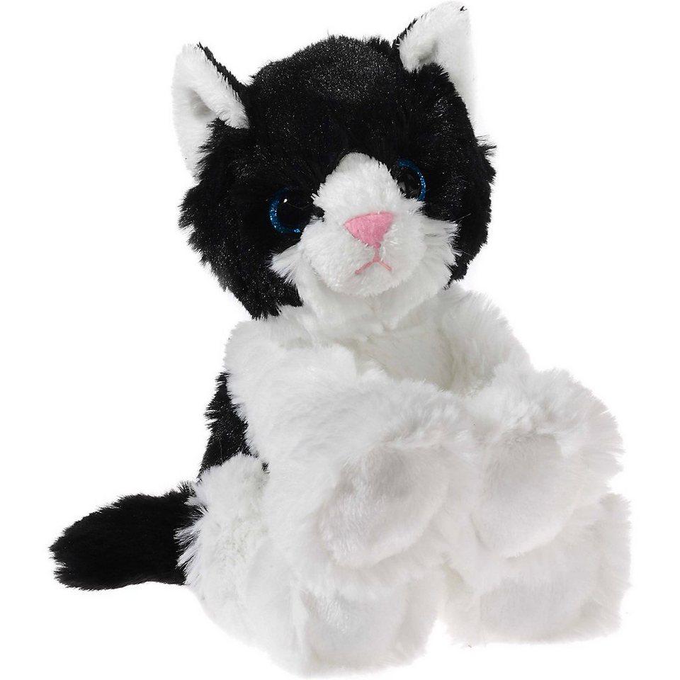 Heunec GLITTER-KITTY Katzen-Baby schwarz/weiß, 20 cm online kaufen