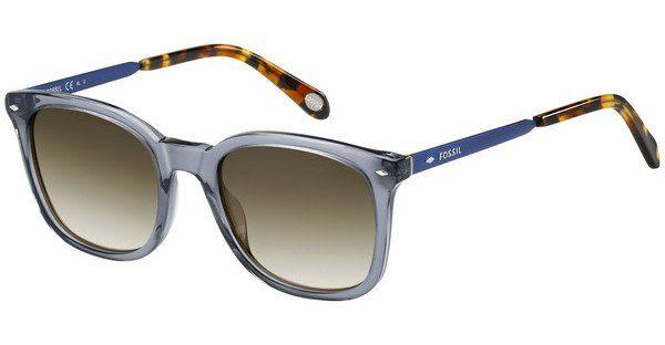 Fossil Sonnenbrille » FOS 2054/S«, schwarz, HD1/8H - schwarz/braun