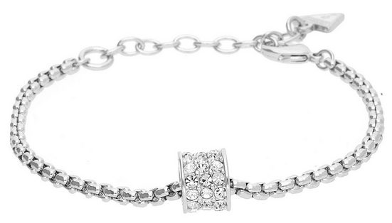 Guess Armband »G Rounds Pave Cylinder UBB21576-L«