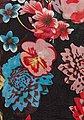 Vincenzo Boretti Schal mit dekorativem Blumenmuster, Bild 2