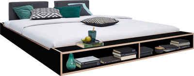Müller SMALL LIVING Futonbett »MAUDE Bett«, Überlänge 220 cm