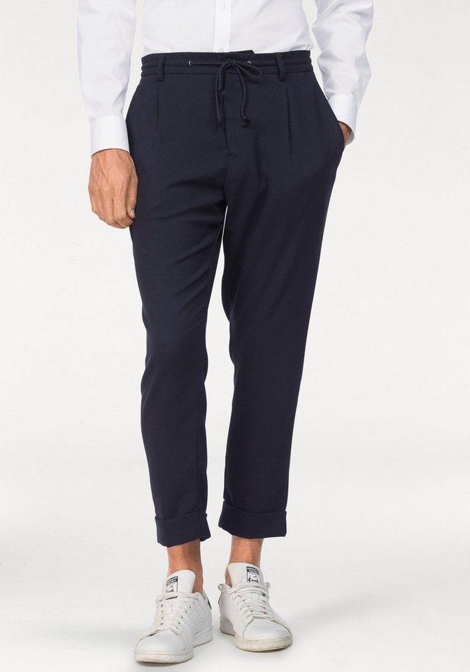 Herren Bruno Banani  Baukastenhose (1-tlg) Modischer Style in 7 8- Länge blau | 04055951290648