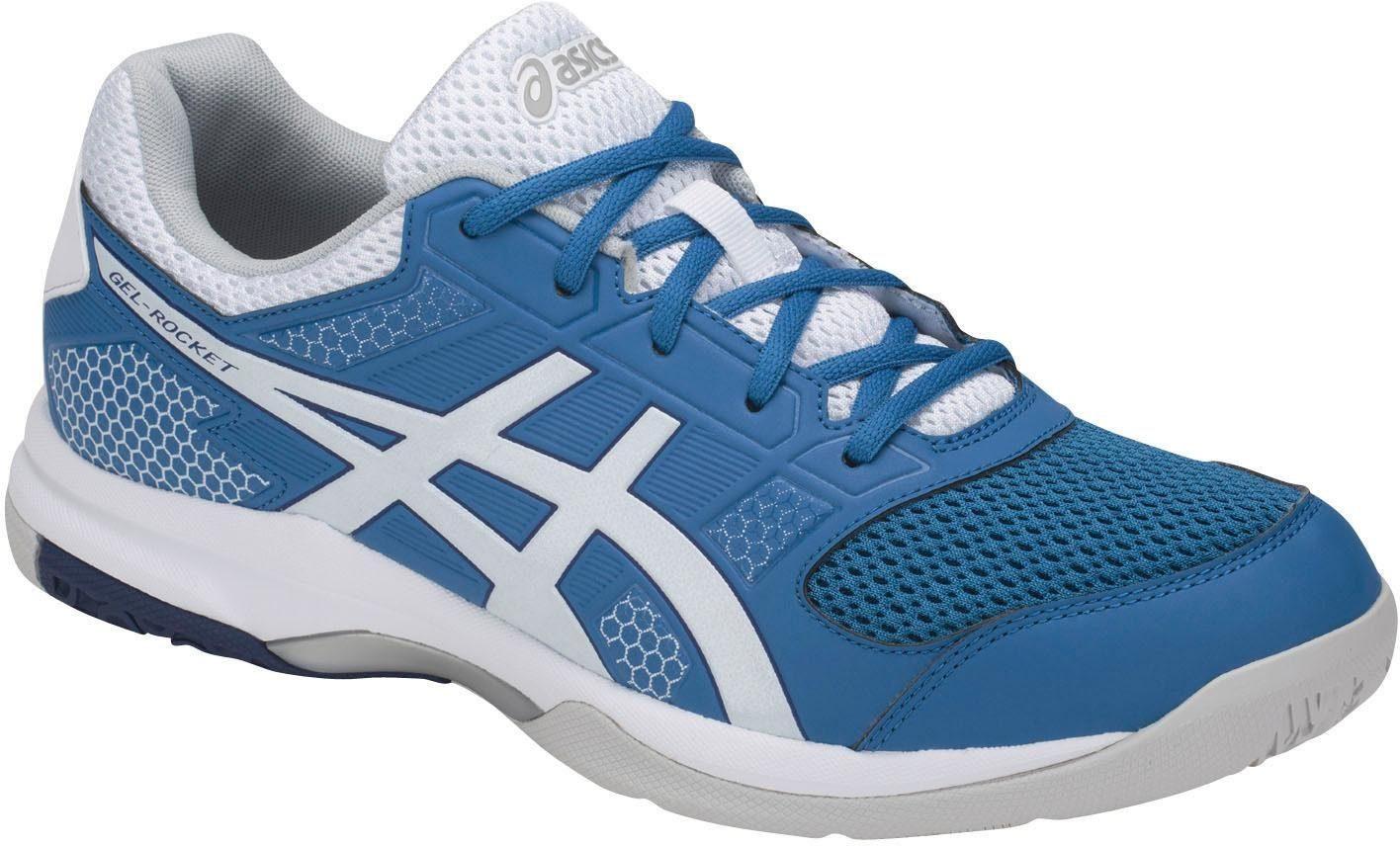 Asics GEL-ROCKET 8 Indoorschuh online kaufen  blau-weiß