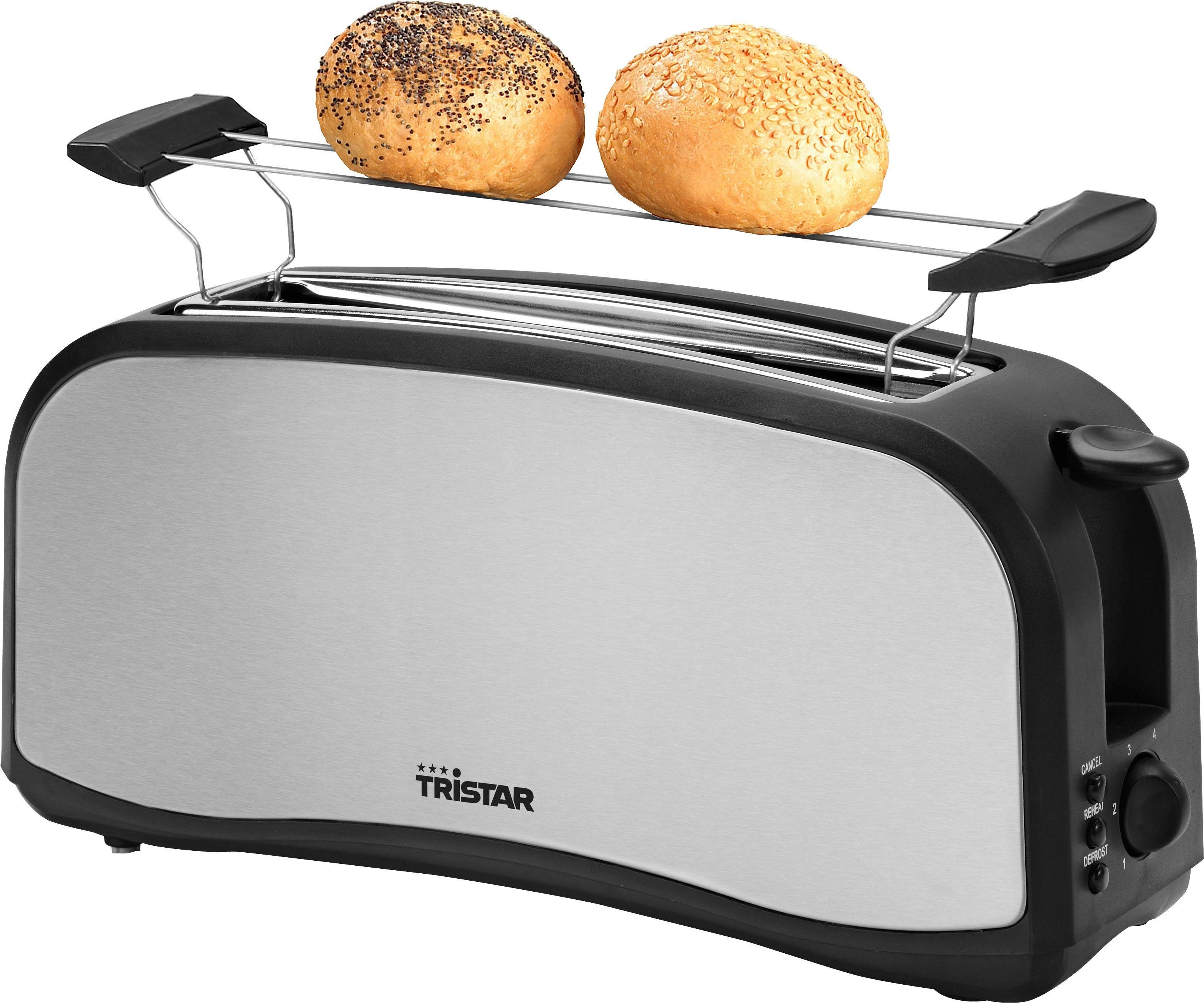 Tristar Toaster BR-2138, 1 langer Schlitz, für 2 Scheiben, 1000 W