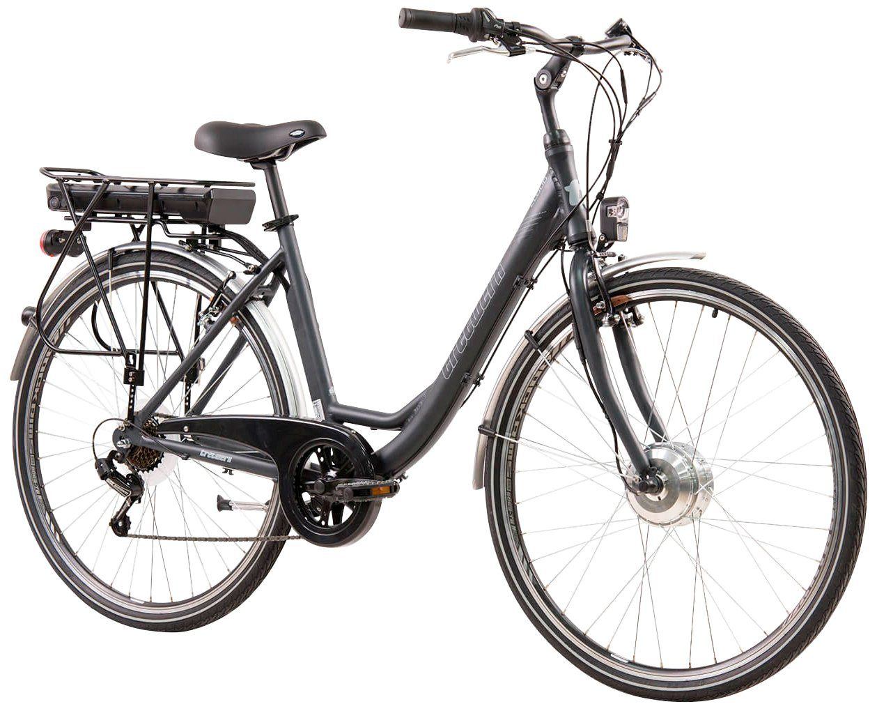 TRETWERK E-Bike City Damen »Cloud 1.0«, 28 Zoll, 7 Gang, Frontmotor, 374 Wh