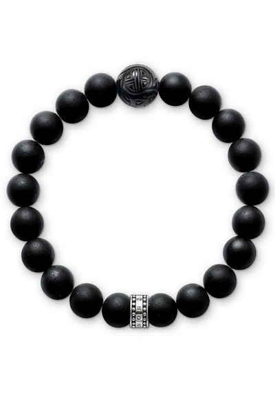 THOMAS SABO Armband »OBSIDIAN, A1085-023-11-L, A1085-023-11-XL«, mit Obsidian