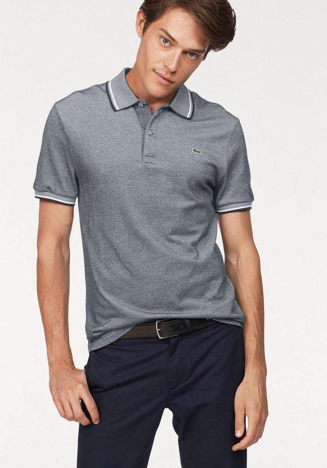 promo code 192aa 1bc03 Lacoste Poloshirt »Slim Fit«, Mit Kontraststreifen am Kragen und Bündchen  online kaufen | OTTO