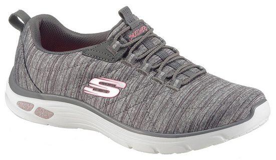 Skechers »Empire D´Lux« Slip-On Sneaker mit Relaxed Fit-Ausstattung