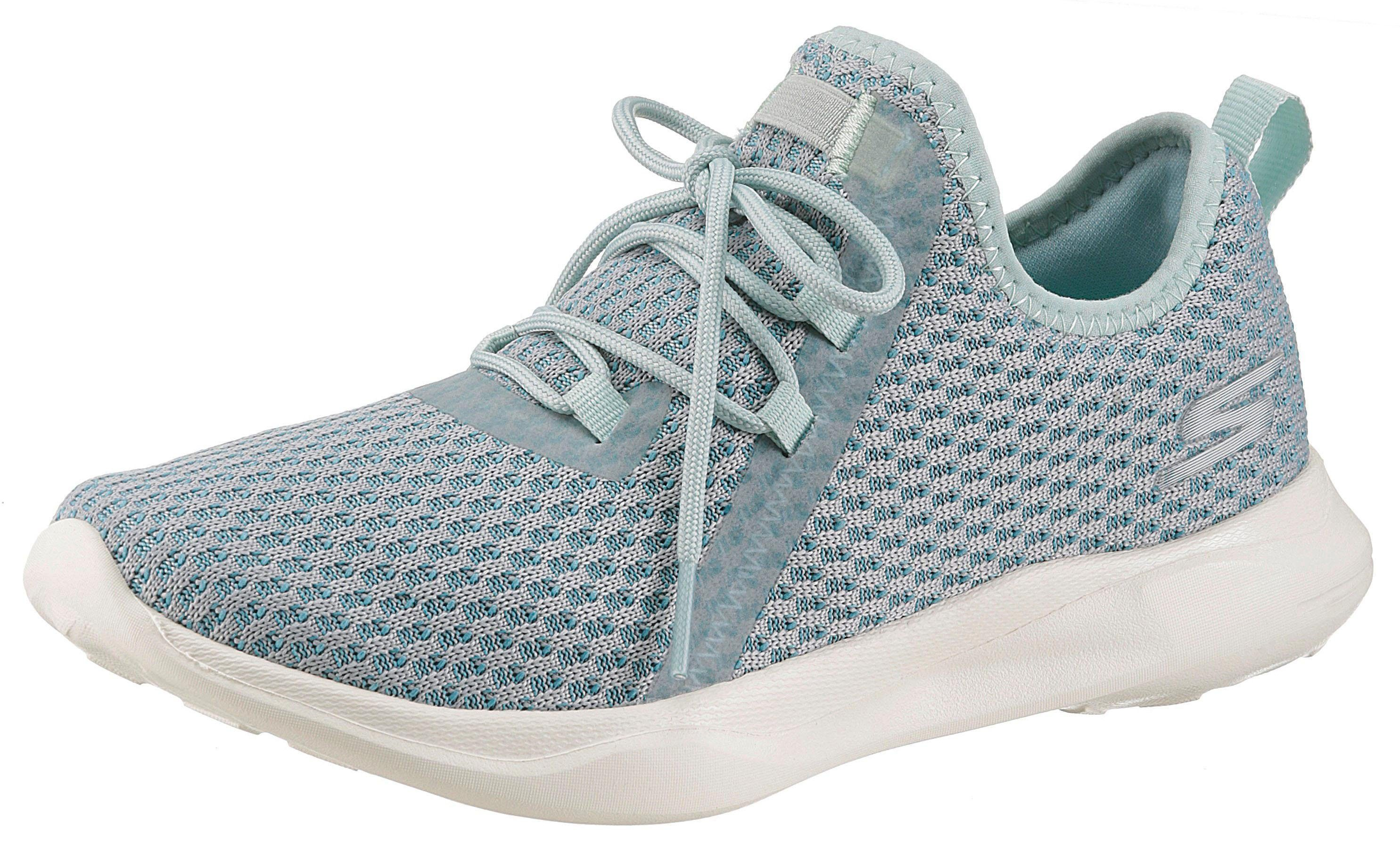 SKECHERS PERFORMANCE »Serene« Slip-On Sneaker mit aufgesetzter Schnürung