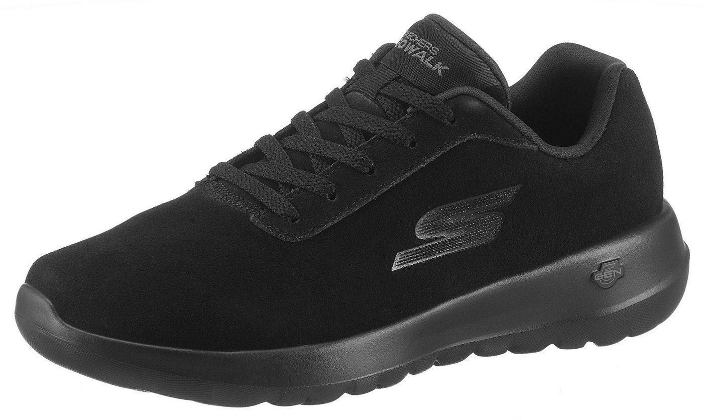 Damen SKECHERS PERFORMANCE Go Walk Joy Evaluate Sneaker mit 5 Gen Technology schwarz | 00192283495526